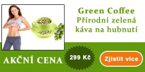 Green coffee - zelená káva na hubnutí