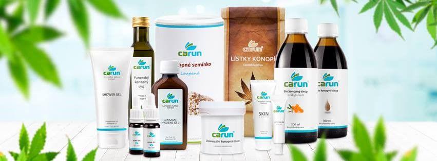 Konopné výrobky Carun